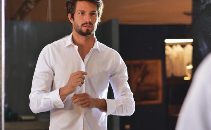 black tie dress shirt