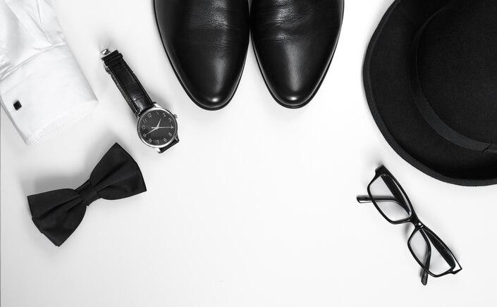 black tie accessories