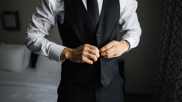 black tie waistcoat