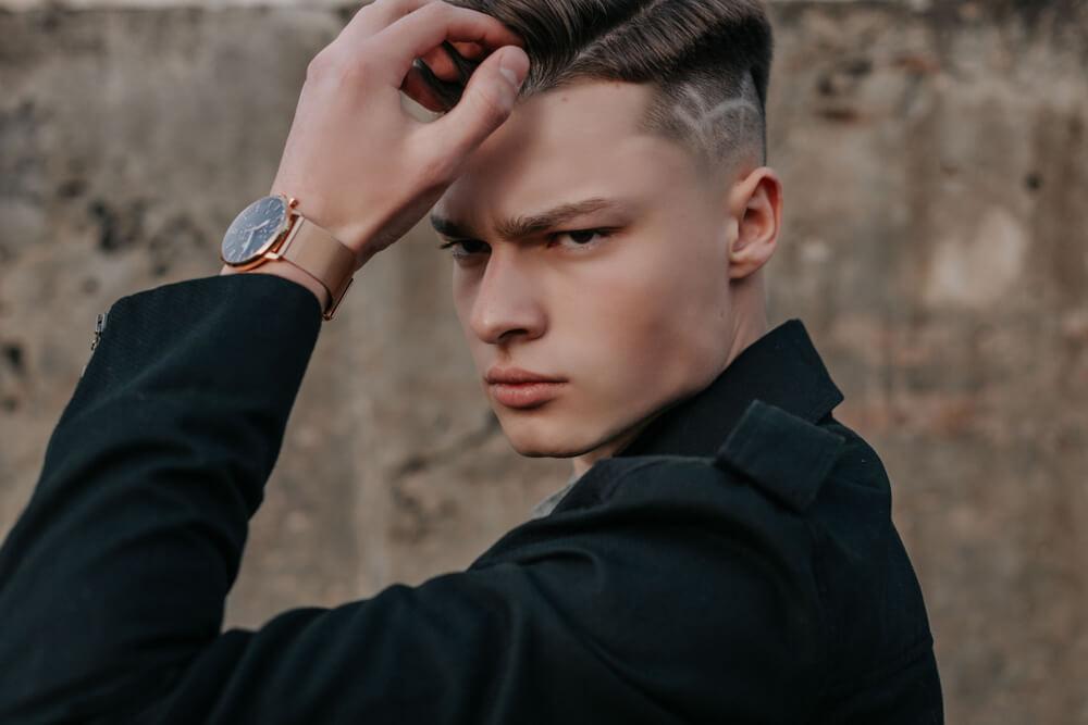 mens stylish designer coat