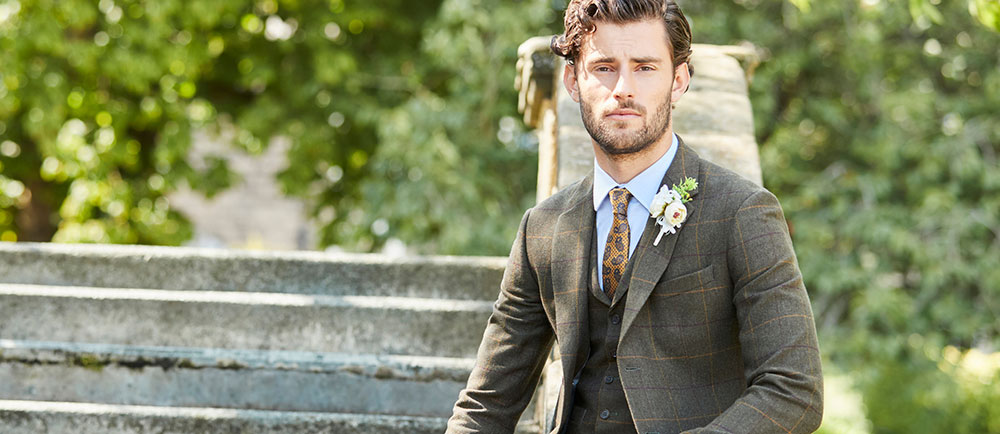 Style Guide: Autumn Wedding Suits