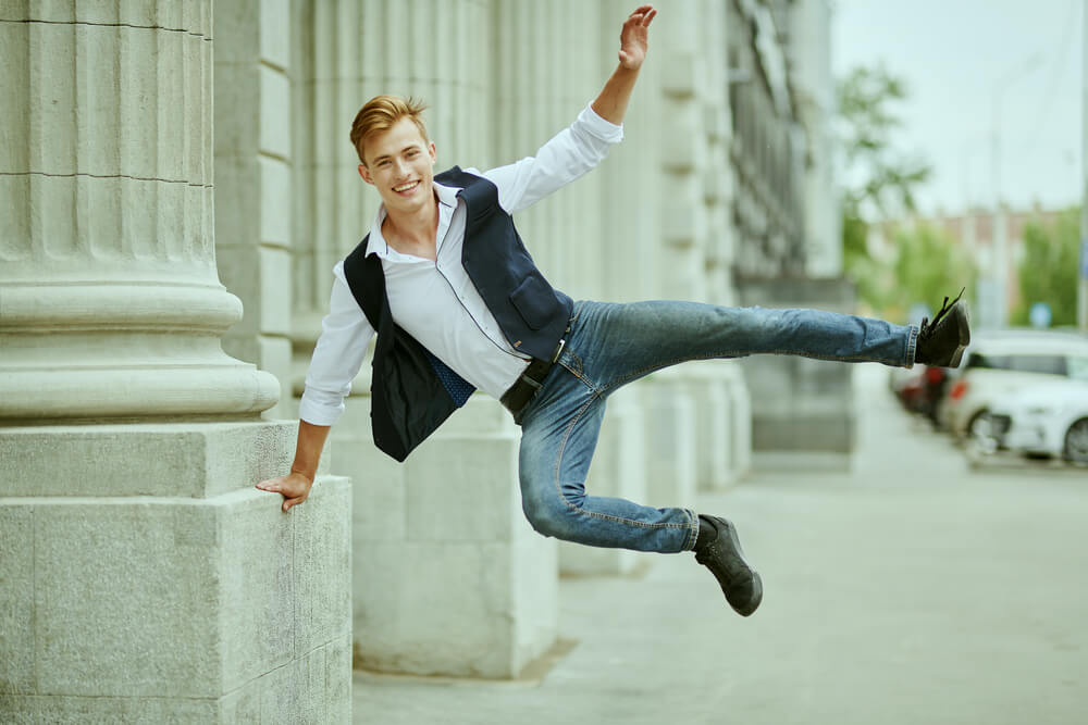 how to wear a waistcoat with jeans
