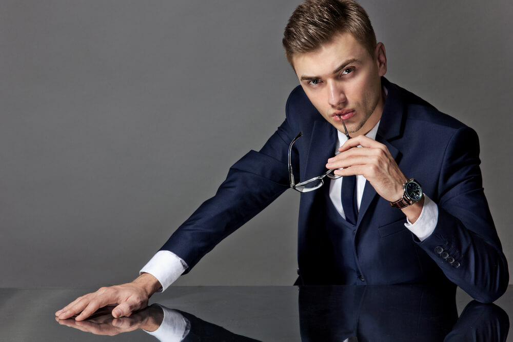 man in a three piece suit