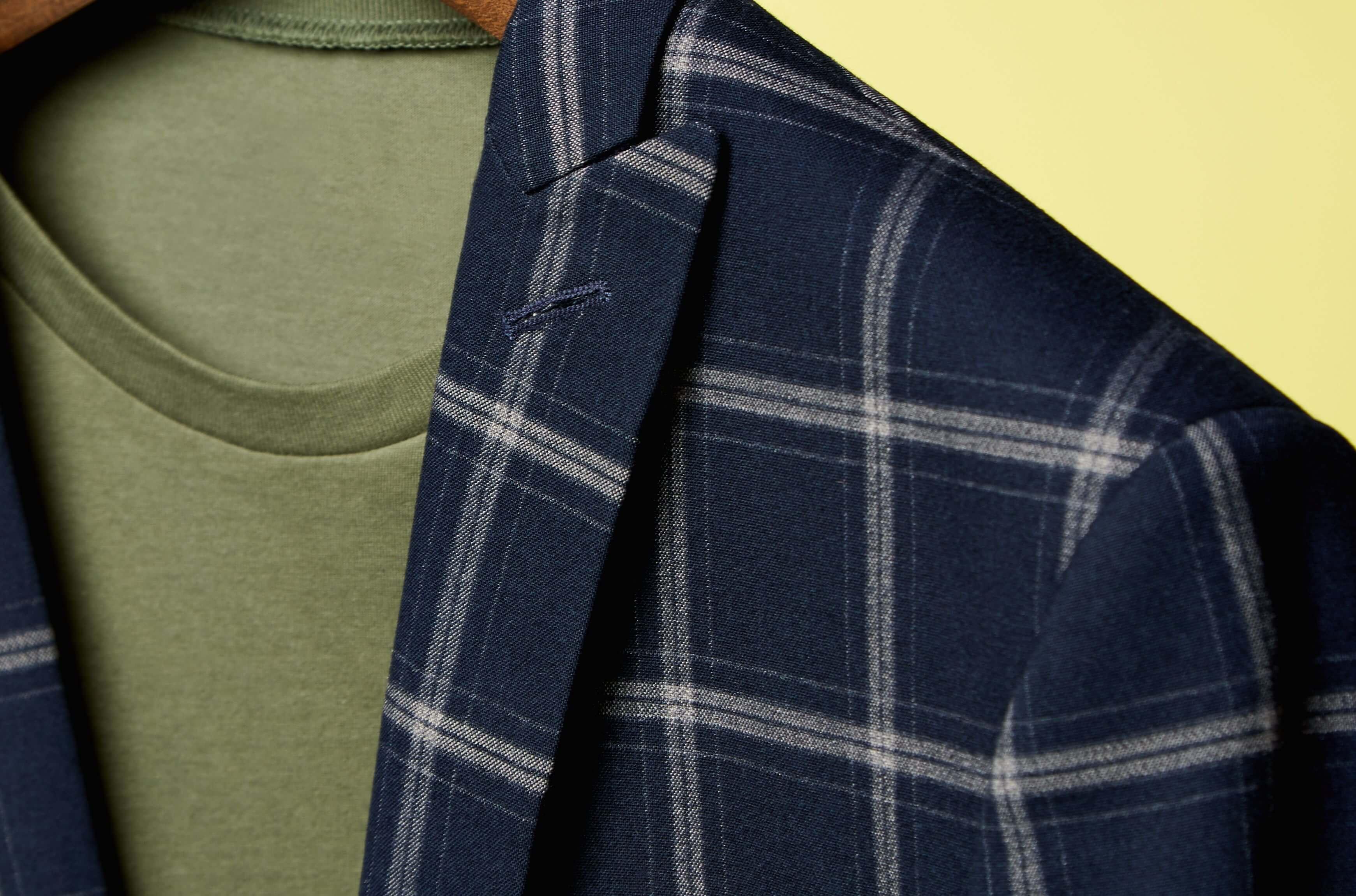 tshirt with blazer