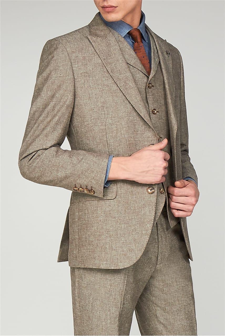Linen Suit - Gibson London - Suit Direct