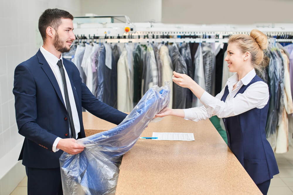 dry cleaners for suits