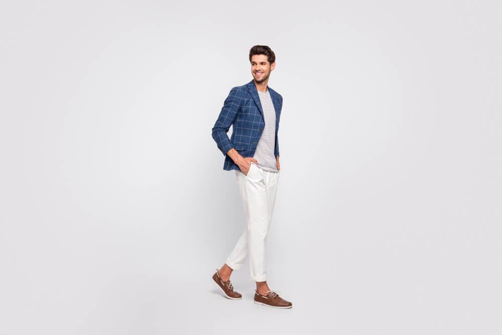 blazer tshirt and shoes