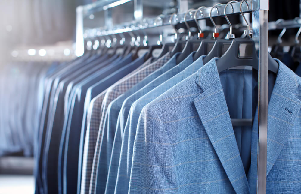 styles of navy suits
