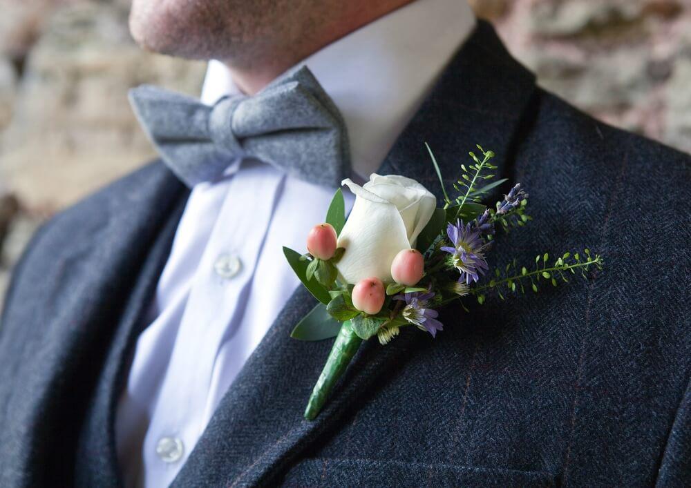 tweed wedding suit style