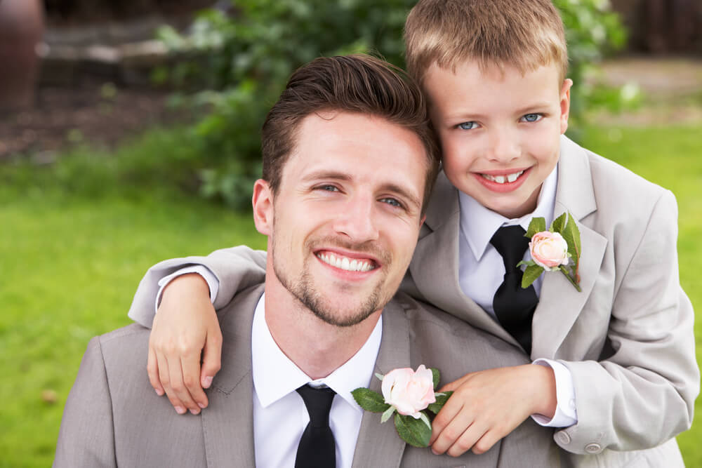 Coordinating Boys Suits and Men's Suits