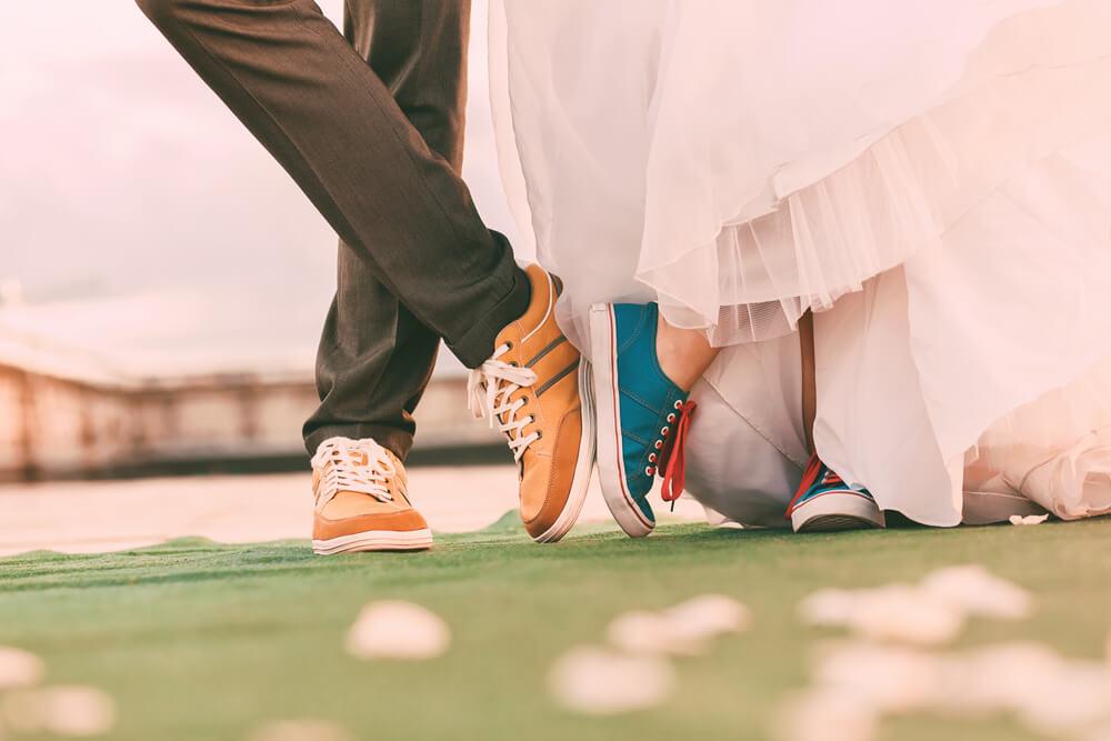 smart casual wedding reception