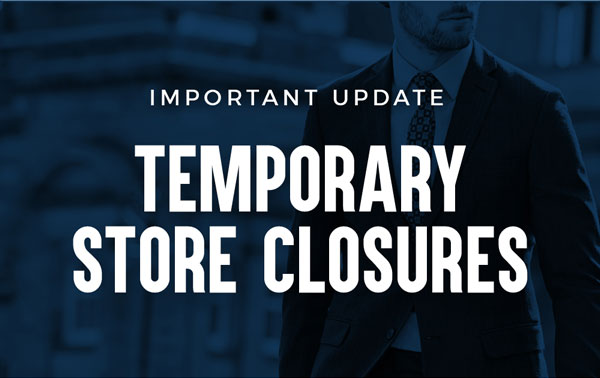 Our Stores Are Temporarily Closed