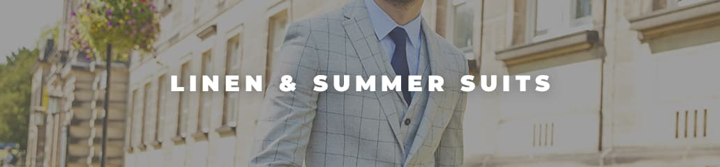 Linen Suits - summer office attire for men