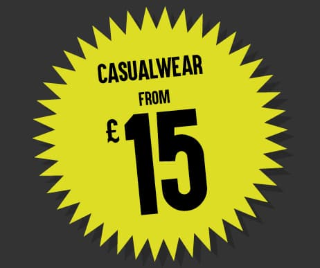 Black Friday Casualwear from £15