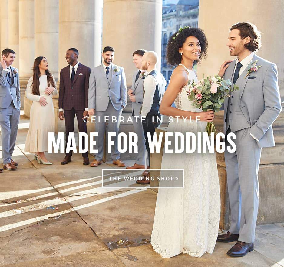 Wedding Suits For Groom, Groomsmen & Guests