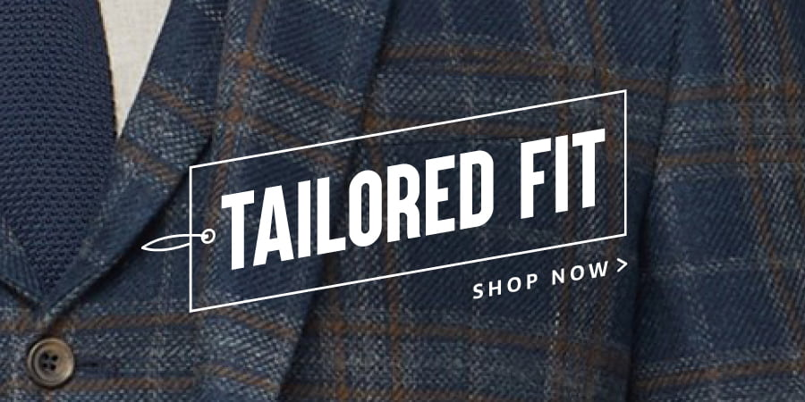 Tailored Fit Suits for Men