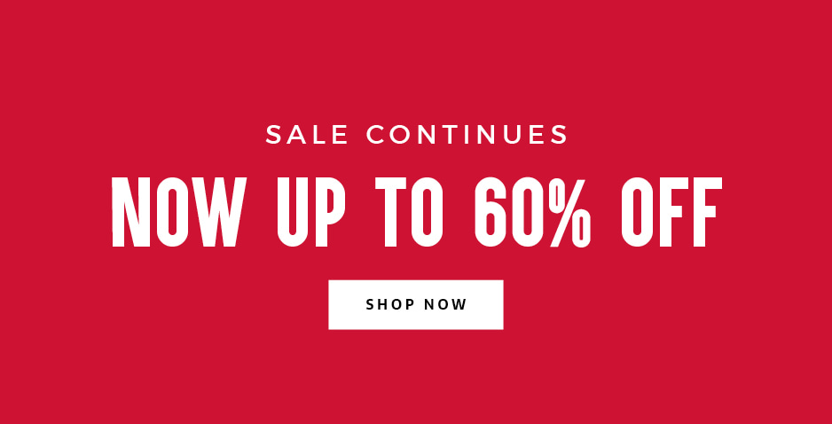 Save Up To 60% Off Sale
