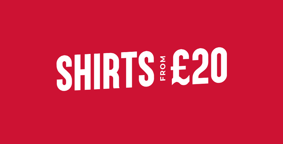 Shirts From Only £20
