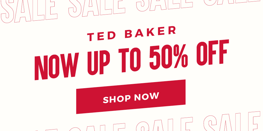 Up To 50% Off Ted Baker