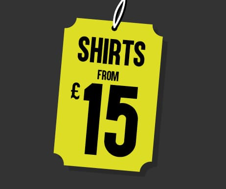Black Friday Shirts from £15