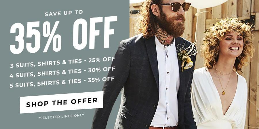 Wedding Suits For Groom, Groomsmen & Guest