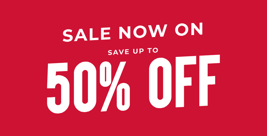 Sale - Up To 50% Off Everything
