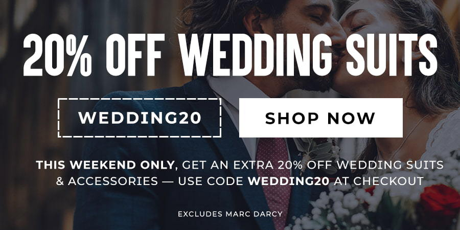 20% Off Wedding Suits