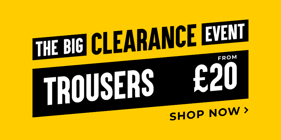 Trousers from £20