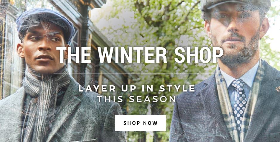 Men's Winter Suits, Coats & Accessories