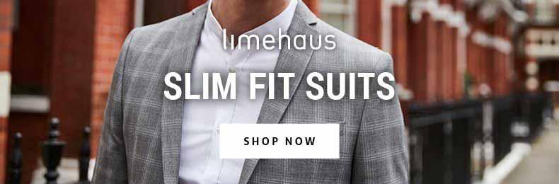 Slim Fit Limehaus Suits