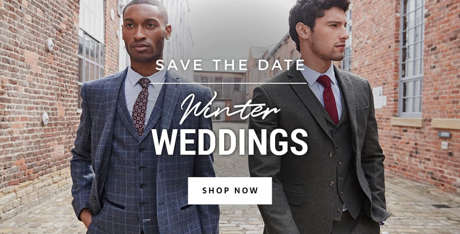 Winter Wedding Suits For Groom And Guests