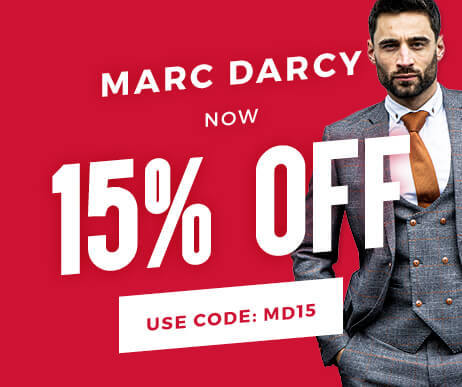 An Extra 15% Off Marc Darcy