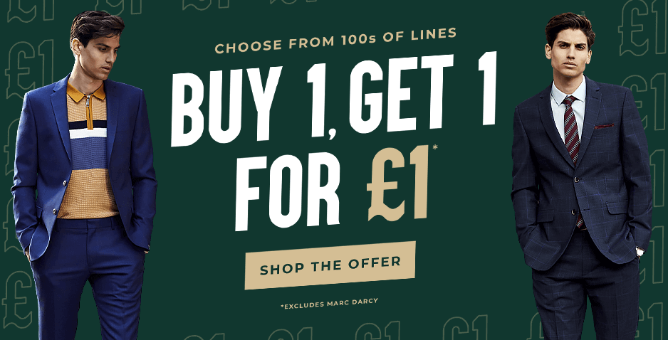 Buy 1 Get 1 For £1