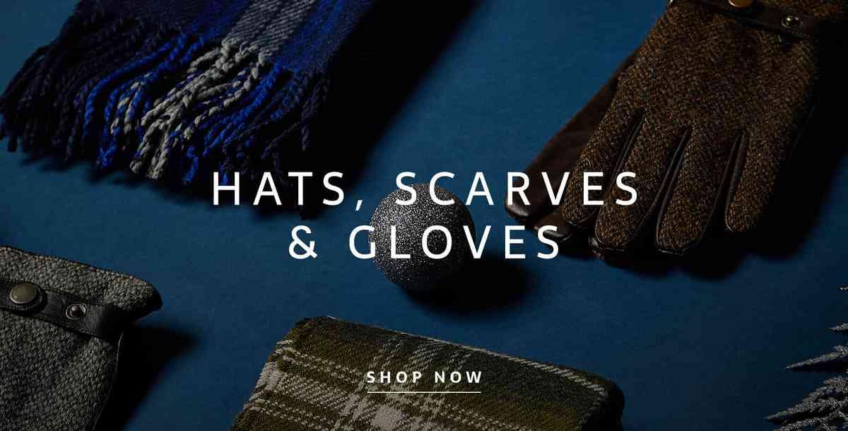 Hats scarves gloves