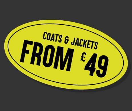 Black Friday Coats and Jackets from £49