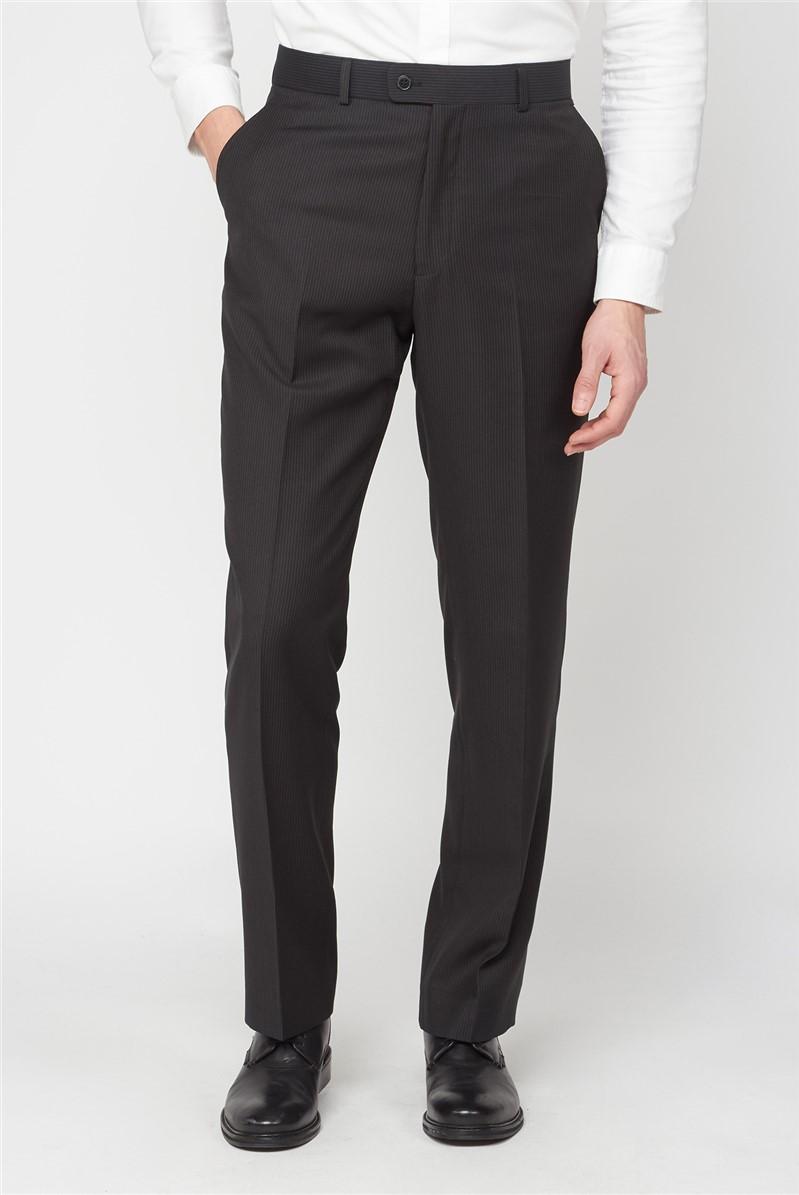 Brown Stripe Trousers