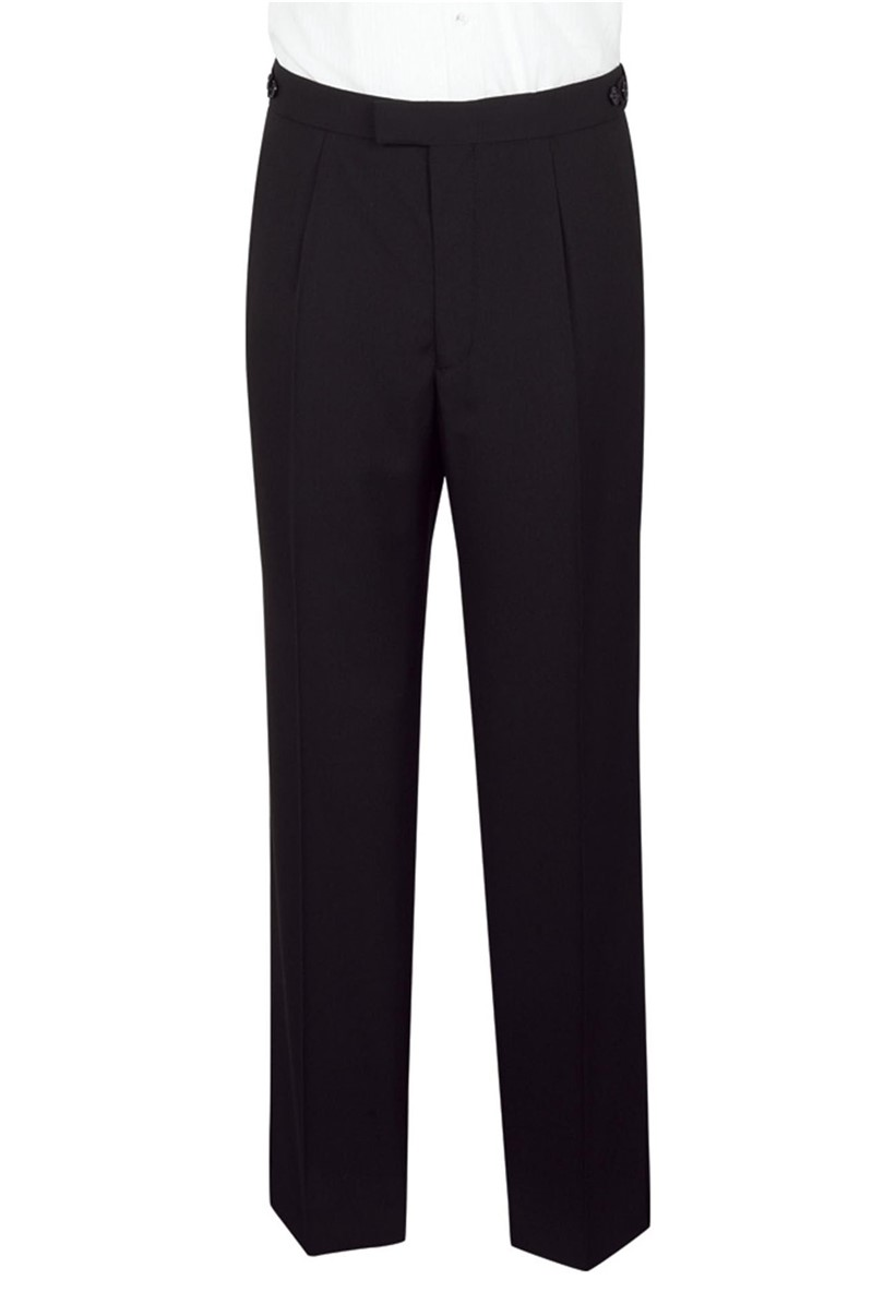 Black Evening Trouser