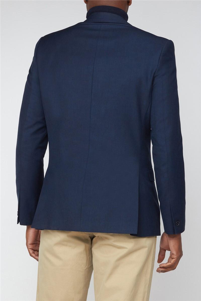 Navy Plain Suit Jacket