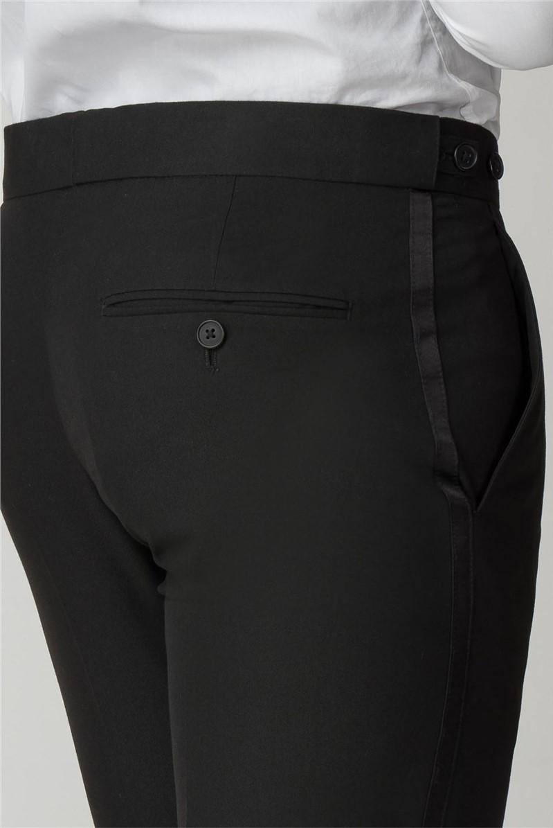 Black Tailored Fit Dinner Suit