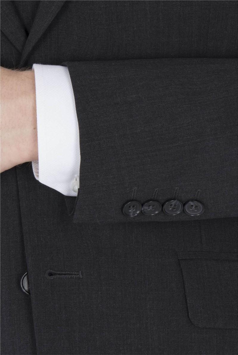 Charcoal Travel Regular Fit Suit