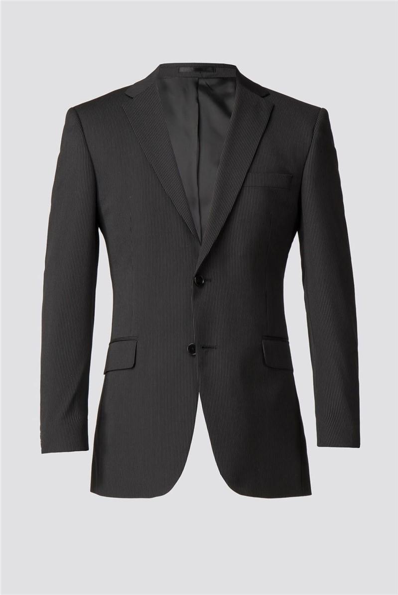 Black Stripe Suit