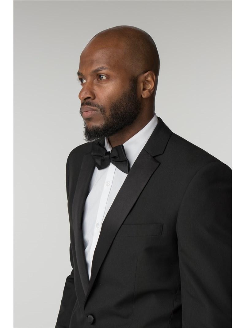 Regular Fit Black Dinner Suit