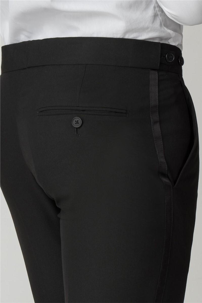 Tailored Fit Black Dinner Suit