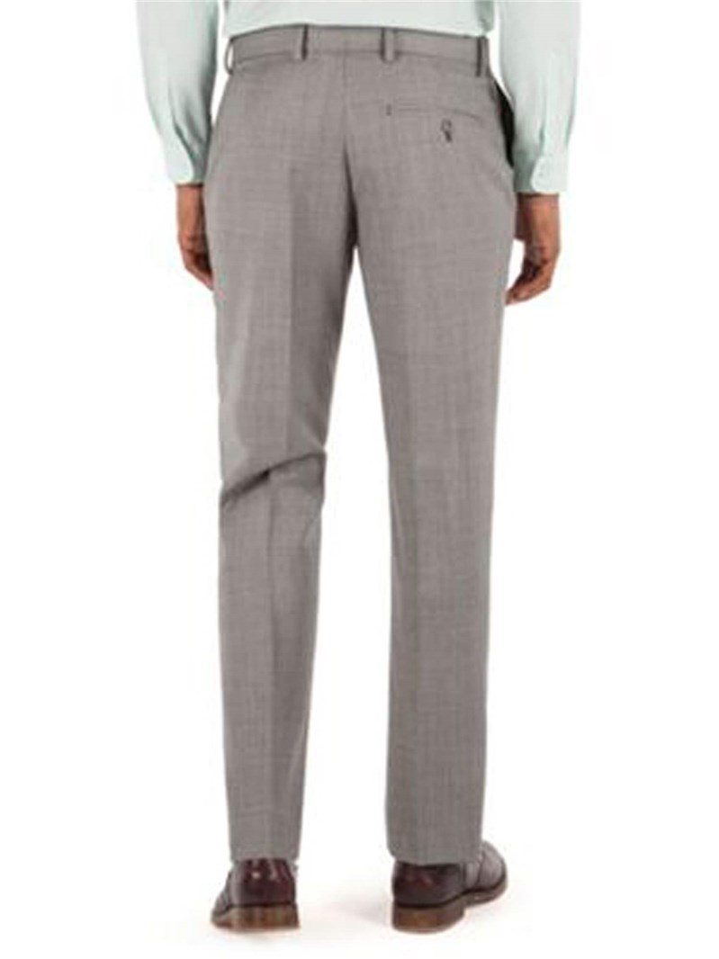 Light Grey Pick & Pick Tailored Fit Suit