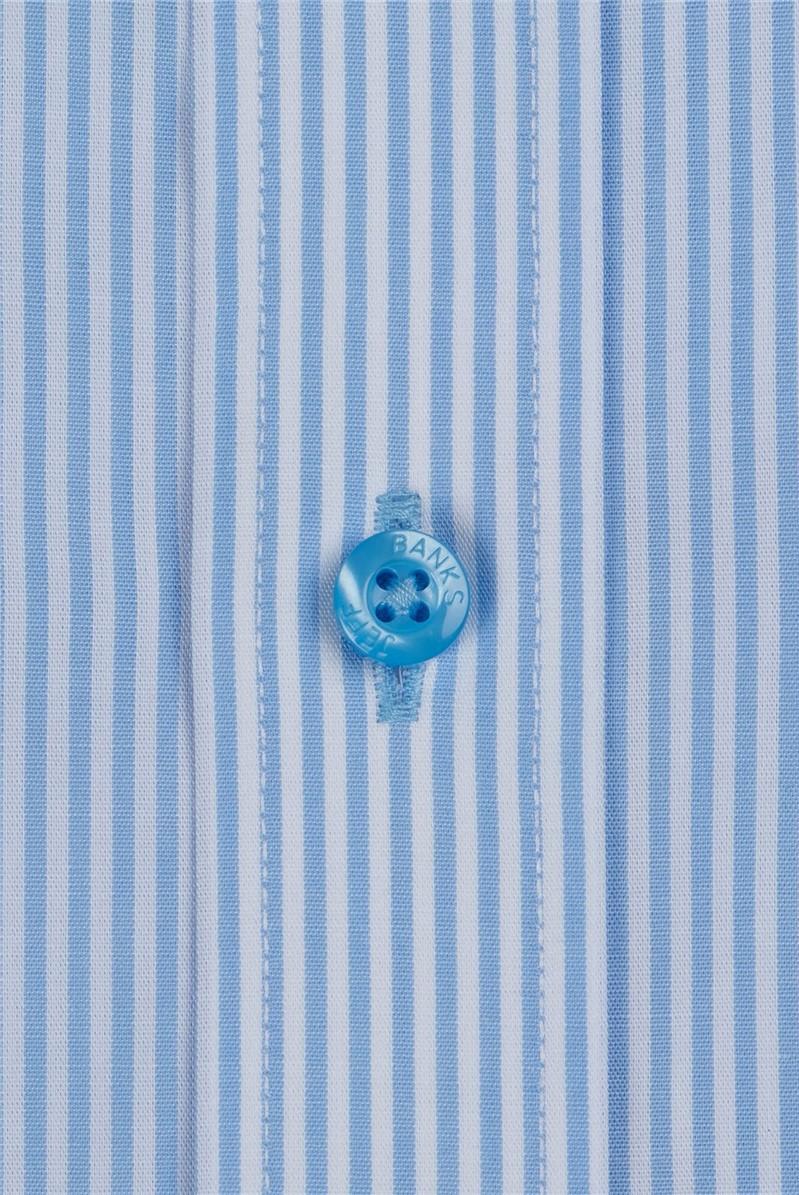 Blue Stripe Regular Fit Shirt