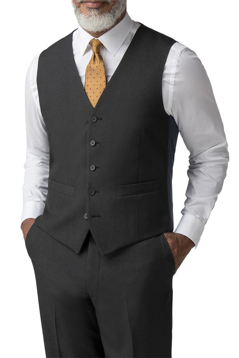 Charcoal Panama Regular Fit Suit