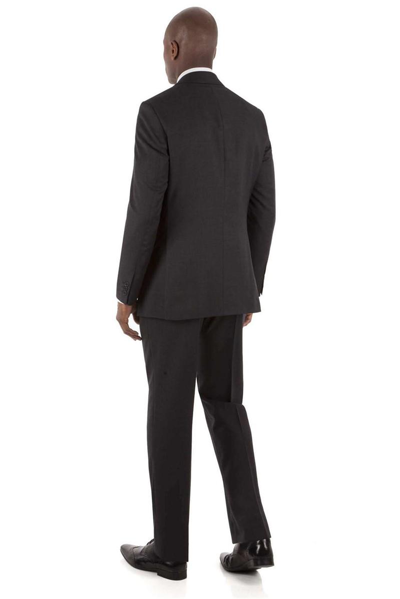 Charcoal Check Regular Fit Suit