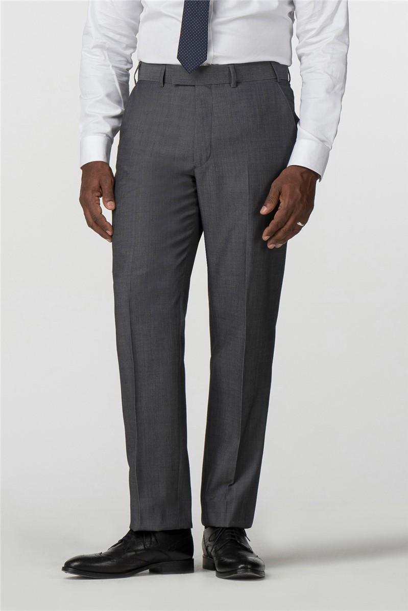 Performance Grey Twill Regular Fit Suit