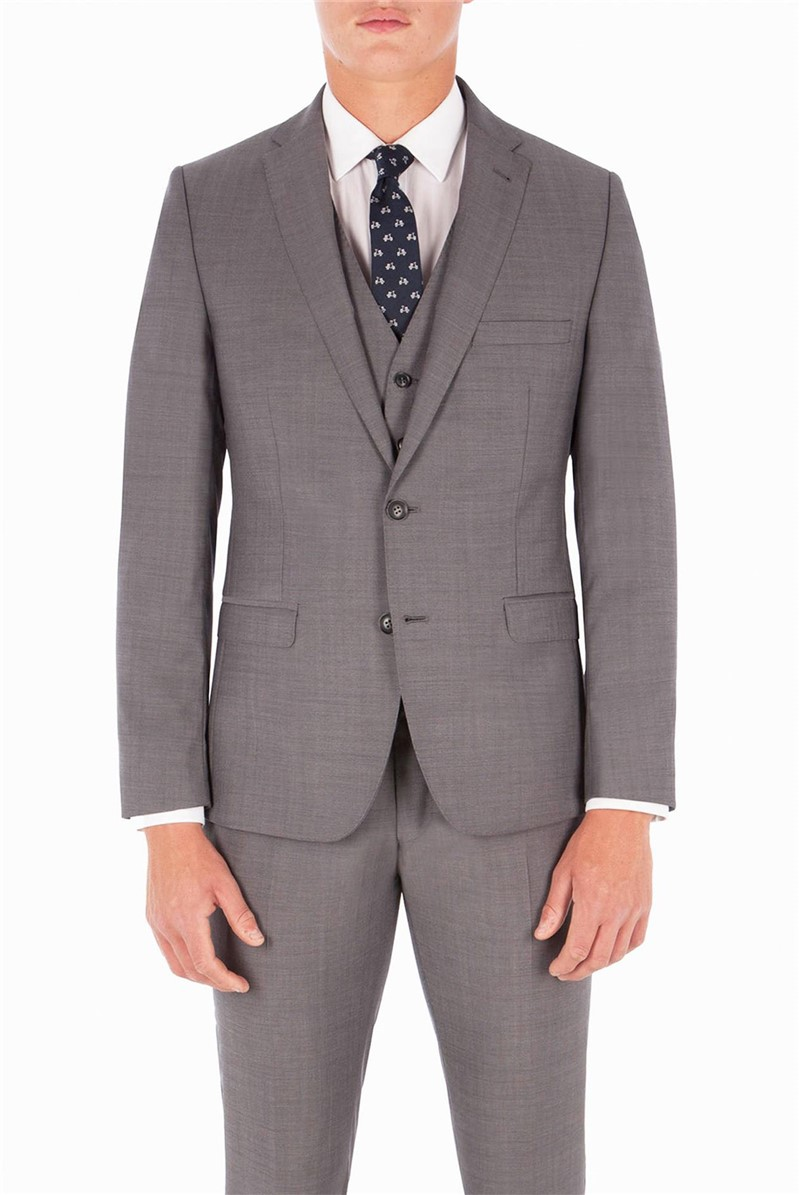 Smoked Pearl Twill Camden Fit Suit