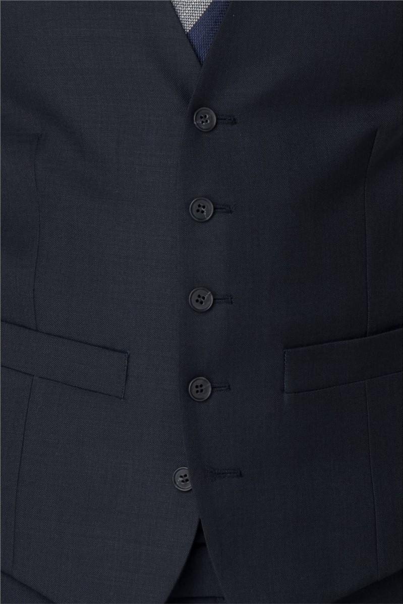 Navy Pick & Pick Waistcoat